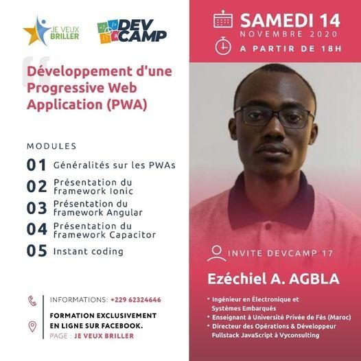 Devcamp 17 : Création d'une Progessive Web Application