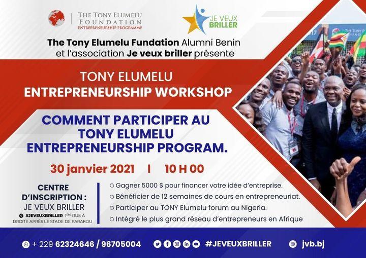 Comment participer au Tony Elumelu Entrepreneurship Program